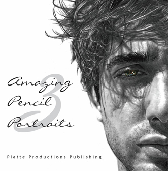 """Amazing Pencil Portraits 3"" book cover"