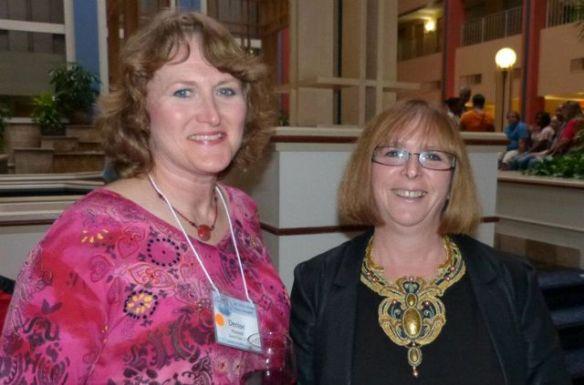 Denise Howard and Arlene Steinberg