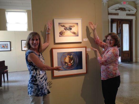 Denise Howard and Deborah Friedman