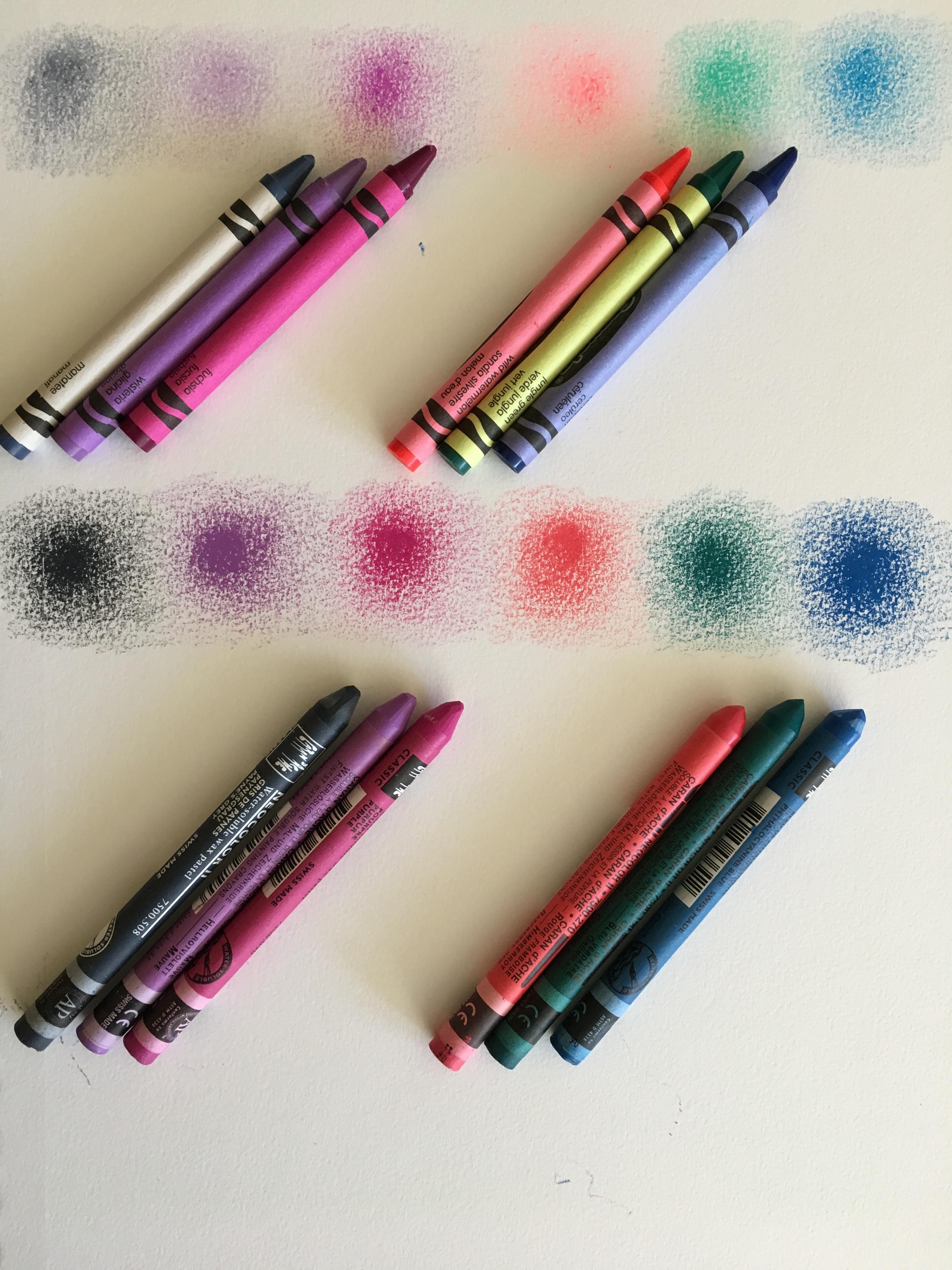 CrayolasVsNeocolorIIs.JPG