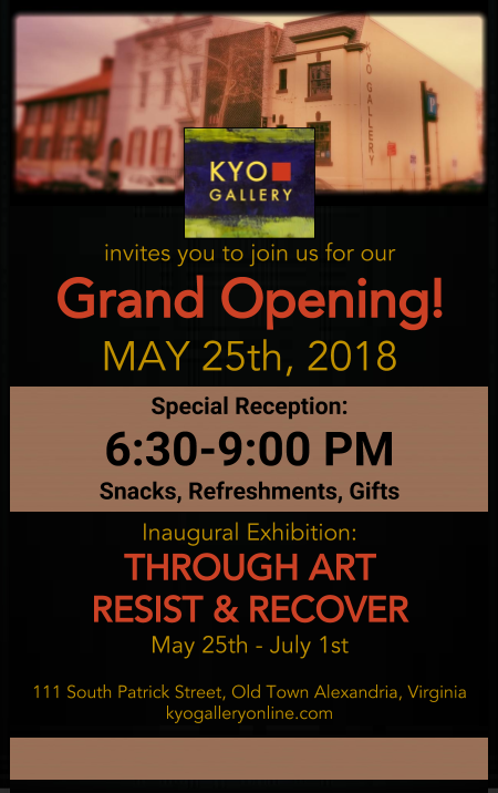 Kyo Gallery Grand Opening Reception Evite