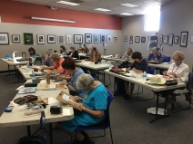 My Tucson workshop students hard at work in October